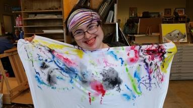 smiley fabric sarah